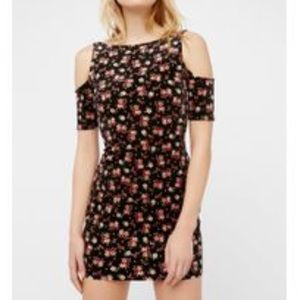 FREE PEOPLE DRESS Just for a night bodycon